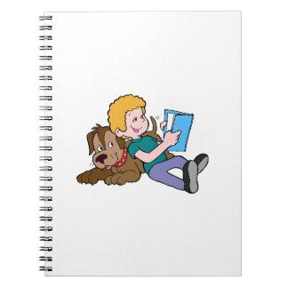 Best Friends Reading Spiral Notebook