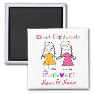 Best Friends Refrigerator Magnets