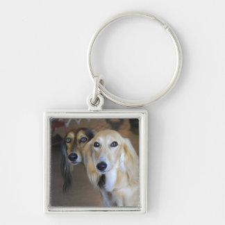 Best Friends- Saluki Dogs Key Chain