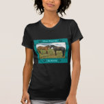 Best Friends sentiment with Horses Tee Shirts