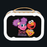 """Best Friends Sesame Street Lunch Box<br><div class=""""desc"""">Abby Cadabby,  Elmo,  and Zoe are best friends on Sesame Street.        This item is recommended for ages 2 . &#169;  2014 Sesame Workshop. www.sesamestreet.org</div>"""