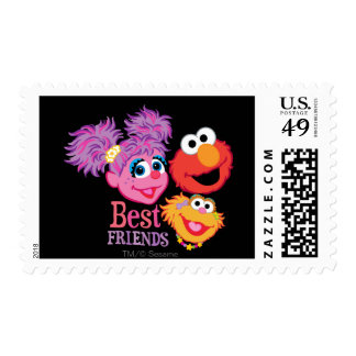 Best Friends Sesame Street Stamps