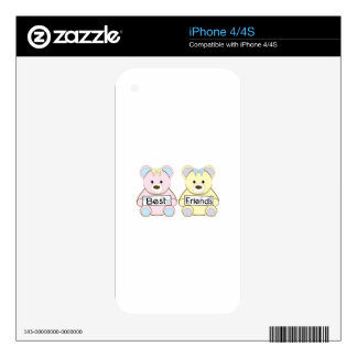 Best Friends Skin For The iPhone 4
