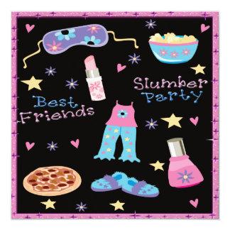 Best Friends Slumber Party Sleepover Card