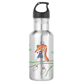Best Friends Stainless Steel Water Bottle - Shiny 18oz Water Bottle