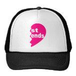 Best Friends Tee Shirt Mesh Hats
