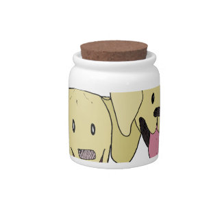 Best Friends - The Labs Candy Jar