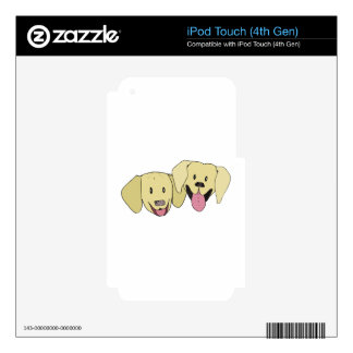 Best Friends - The Labs Decal For iPod Touch 4G