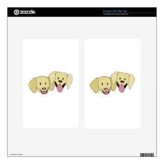 Best Friends - The Labs Kindle Fire Skin