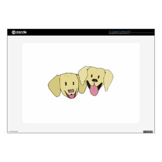 Best Friends - The Labs Skin For Laptop