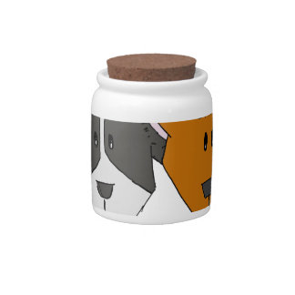 Best Friends - The Mutts Candy Jar