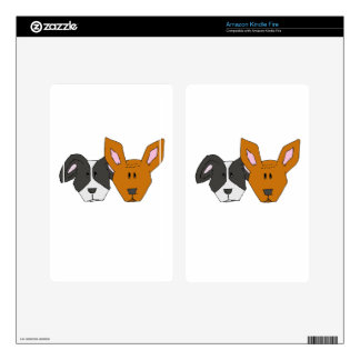 Best Friends - The Mutts Decals For Kindle Fire