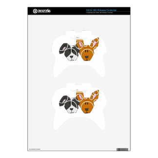 Best Friends - The Mutts Xbox 360 Controller Skin