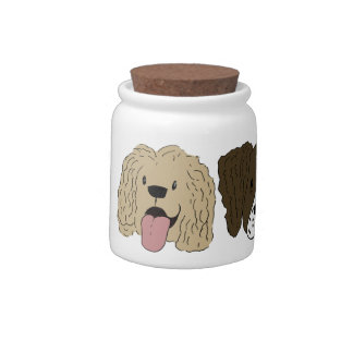 Best Friends - The Spaniels Candy Jar
