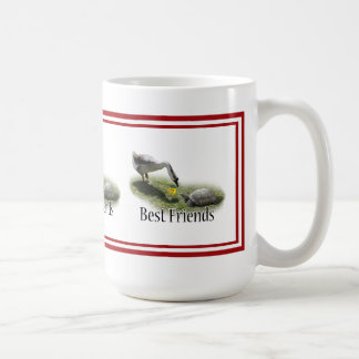 Best Friends - The Turtle & The Goose Coffee Mug