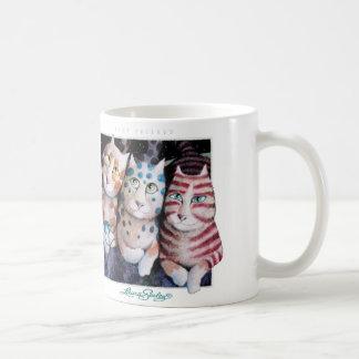 BEST FRIENDS ~ THREE OF LAURA'S MAGIC CATS COFFEE MUG