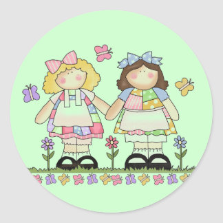 Best Friends Tshirts and Gifts Classic Round Sticker