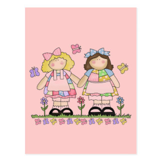 Best Friends Tshirts and Gifts Postcard