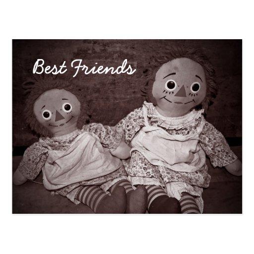 Best Friends Valentine Postcard