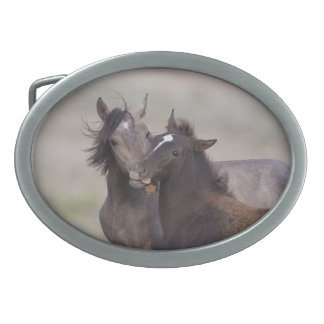 Best Friends Wild Mustang Belt Buckle