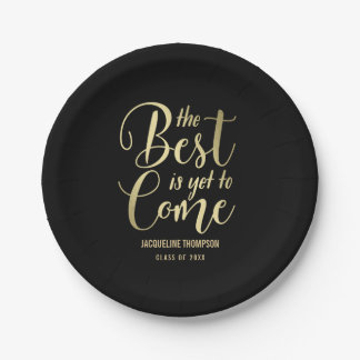 Best Future EDITABLE COLOR Graduation Plates
