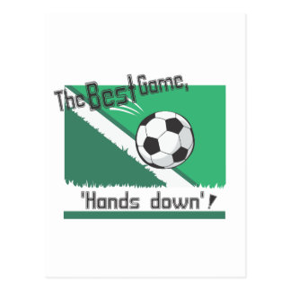 """Best Game """"hands down"""" Post Card"""