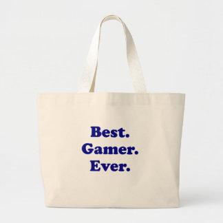 Best Gamer Ever Jumbo Tote Bag