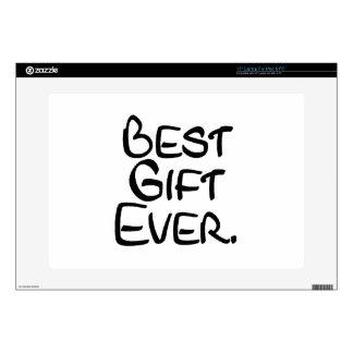 "Best Gift Ever 15"" Laptop Skin"