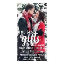 Best Gift Under The Tree Pregnancy Announcement