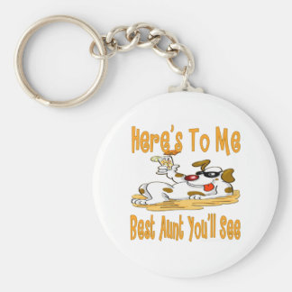 Best Gifts For Aunts Basic Round Button Keychain