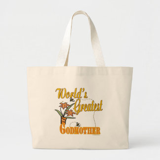 Best Gifts For Godmothers Large Tote Bag