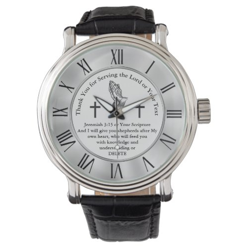 Best Gifts for Pastors, Anniversary, Birthday Watch