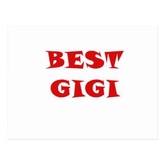 Best Gigi Post Card