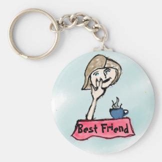 Best Girl Friend Keychain