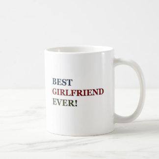 Best Girlfriend Ever Classic White Coffee Mug