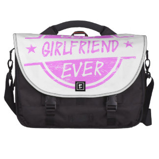 Best Girlfriend Ever Pink Bag For Laptop