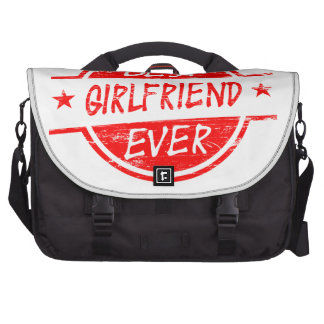 Best Girlfriend Ever Red Bag For Laptop