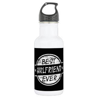 Best Girlfriend Ever White Stainless Steel Water Bottle
