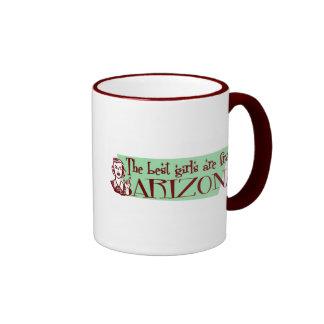 Best Girls are from Arizona Mug