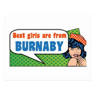 Best girls are from Burnaby Postcard