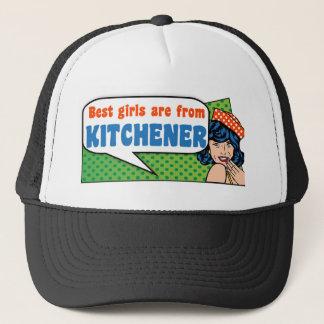 Best girls are from Kitchener Trucker Hat