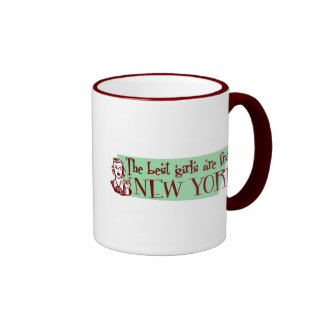 Best Girls are from New York Coffee Mugs