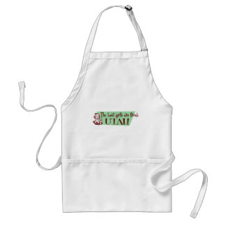 Best Girls are from Utah Adult Apron