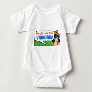 Best girls are from Vaughan Baby Bodysuit