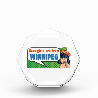 Best girls are from Winnipeg Award