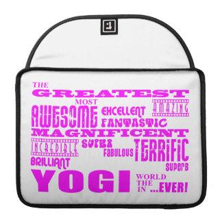 Best Girls Yogis Yoga : Pink Greatest Yogi Sleeves For MacBook Pro