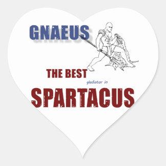 Best Gladiator Heart Sticker