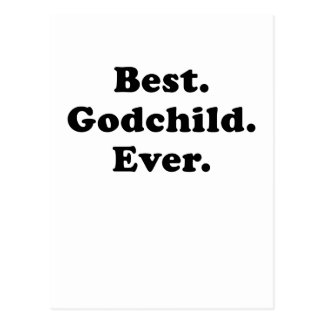 Best Godchild Ever Postcard