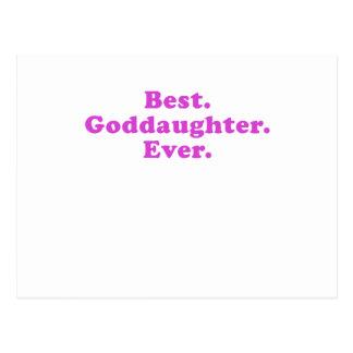 Best Goddaughter Ever Post Card