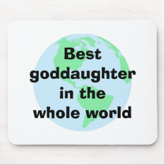 Best Goddaughter Mousepad